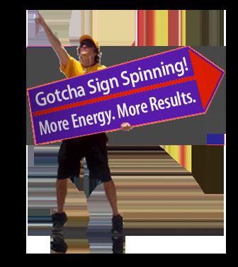 sign spinner